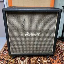 Vintage 1974 Marshall Checkerboard Bass 1935 4x12 Cabinet EMPTY Unloaded w Revvo