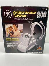GE Cordless Headset Telephone