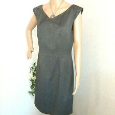 Mossino Dreses Stretch size 10 Grey Color.