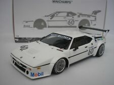 BMW M1 #60 PROCAR SÉRIE ZOLDER 1979 E. de ANGELIS 1/18 MINICHAMPS 180792961