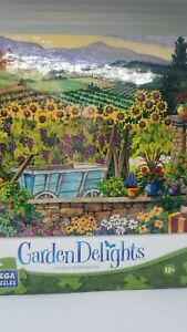 Garden Delights Afternoon In Tuscany Mega Puzzle 750 Pc NEW SEALED