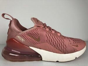 NIKE AIR MAX 270 Womens RUST PINK Size 7.5 Casual Trainers Rare