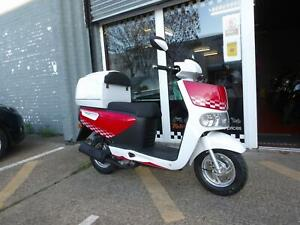 50cc pizza delivery scooter MOPED ECHO