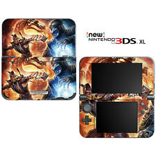 Mortal Combat for New Nintendo 3DS XL Skin Decal Cover