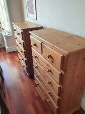 pine chest of drawers used
