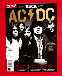 AC/DC CLASSIC ROCK Magazine The COMPLETE STORY BOOK 2021 ACDC Angus Young