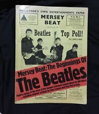 VERY RARE VINTAGE ORIGINAL COLLECTORS MERSEY BEAT BEGINNINGS OF THE BEATLES BOOK
