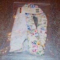 Longaberger Spring Floral LITTLE BOARDWALK Basket Liner ~ Brand New in Bag!