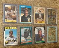 (8) Barry Bonds 1986 1987 Topps Fleer Donruss Sportflics Rookie Card Lot RC HOF?