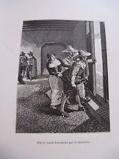 CERVANTES RINCONETE & CORTADILLO 1891 Illustré ATALAYA 1 des 500 / Vélin ESPAGNE