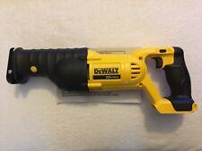 New Dewalt DCS380B 20V 20 Volt Max Variable Speed Reciprocating Saw Sawzall