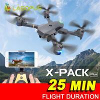 Drone plegable 25 minutos Duración del vuelo 5MP WIFI 1080P Drones con cámara HD