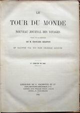 1860 – LE TOUR DU MONDE, NOUVEAU JOURNAL DES VOYAGES – VIAGGI ESPLORAZIONI