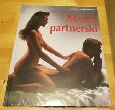 """Masaz partnerski. Polish book """"Couples massage"""". Polska ksiazka"""