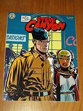 STEVE CANYON #12 SEPTEMBER 1985 MILTON CANIFF KITCHEN SINK PRESS US MAGAZINE^