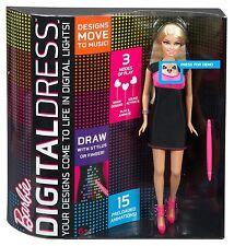 Barbie Digital Dress Doll - Customizable LED dress that lights up !!
