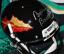 BOBBY BOWDEN signed SEMINOLES F/S HELMET COA FSU Florida State BLACK