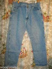 Wrangler Jeans Size 38 32 100% Cotton Pre Owned