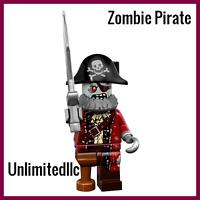 LEGO Minifigures Series 14 71010 Zombie Pirate New