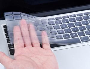 "Silicone Keyboard Cover Skin for Apple Macbook Air Pro Retina MAC 13 15 17"""