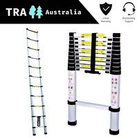 Portable Telescopic Ladder 3.2 m Carry Bag Caravan RV Parts Accessories