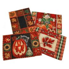 Set of 4 Woven Placemats Place Mats Fall Assorted Thanksgiving Decor  B105