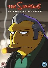 Simpsons The Season 18 DVD Region 2 Release Rated 12