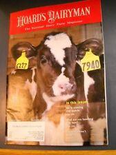 HOARD'S DAIRYMAN MAGAZINE MAR 25 2013 NATIONAL DAIRY FARM US 2012 STATISTICS