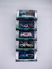M2 Machines Auto-Trucks R46 Set Of 5 1970 C60 1965 Econoline 1958 GMC 1967 F-100