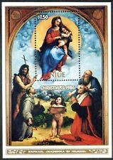 "Niue-1986 Christmas. Raphael's painting ""Madonna of Foligno"". 16€"