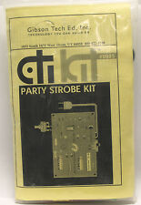 Gibson Tech CTI KIT Party Strobe Kit Model 9985- NEW
