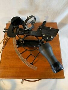 1978 Weems & Plath Sextant In Original Box w/ Keys ~ Beautiful Condition c558