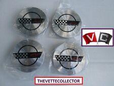 Corvette (4) SET 93 94 95 96 Wheel Center Caps 1993 1994 1995 1996 Emblem Cap