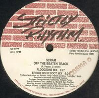 Scram – Thank You / Off The Beaten Track - Strictly Rhythm Sr 1277 USA 1992