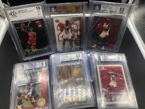 Michael Jordan NBA Card Bundle graded Chicago Bulls BGS PSA Fleer Upper Deck 23