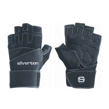 Silverton POWER PLUS Fitness Handschuh mit Neopren Handgelenkbandage
