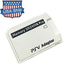 V5.0 SD2VITA PSVSD Micro SD Card Adapter Up to 256GB For PS Vita Henkaku 3.60
