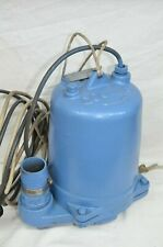 Goulds Submersible Water Pump 13 Hp 115v Continuous Duty 2 Outlet Cast Iron