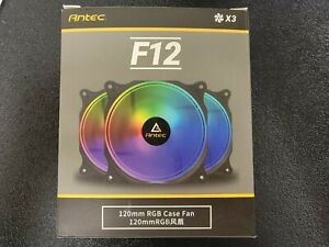 Brand New Antec 120mm Case Fan, RGB Case Fans, PC Fan, 4-PIN RGB, F12 Series