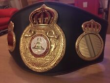 WBA Championship Boxing Belt- most accurate replica -Custom Made WBO WBC IBF