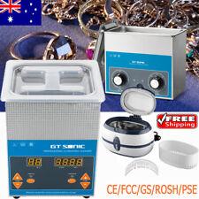 400ml/600ml/2L/3L Ultrasonic Cleaner Jewelry Industrial Cleaning Tanks Macnine
