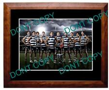GEELONG FC 2011 AFL PREMIERSHIP WIN LARGE A3 PHOTO
