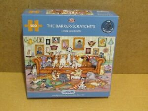 500 piece Jigsaw Puzzle. GIBSONS. THE BARKER- SCRATCHITS. No: G3118.