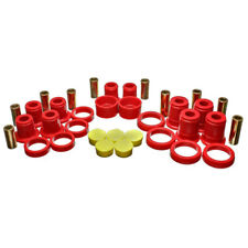 Energy Suspension Control Arm Bushing Kit 3.3194R; Red for Chevy Avalanche