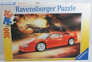 RAVENSBURGER PUZZLE HORSE POWER FERRARI F40 300 PCE 130764 1998 FRANCE COMPLETE