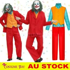 AU Adult Deluxe The Joker Joaquin Phoenix Arthur Fleck Cosplay Costume Full Suit