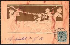 Raphaël Kirchner. Sculptured Jvory. Dell'Aquila J.2/2-5. 1903
