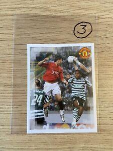 Cristiano Ronaldo Manchester United Sporting Lisbon Panini Sticker 60 2007 Rare
