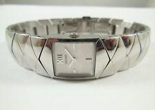 Seiko SUJ441 Silver Tone Stainless Steel 1N00-0FZ8 Sample Watch NON-WORKING