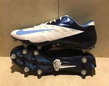 New Nike Vapor Pro Low D Football Cleats Dk Blue/ White Size 16 #544760-131